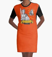 My Kingdom for a Horse from Shakespeare Graphic T-Shirt Dress