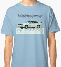 Camiseta clásica AUDI QUATTRO