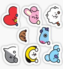BT21 Set d'autocollants Ver. 2 Sticker