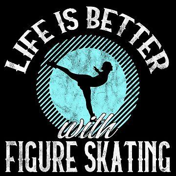 Figure Skating Skater Skaters Gift by ninarts