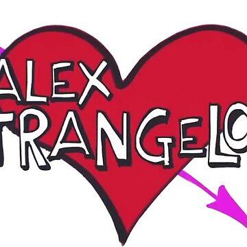 Alex Strangelove Merch by Halla-Merch