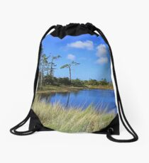 Against the Wind Drawstring Bag