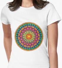 Floral Mandala - Joy Women's Fitted T-Shirt