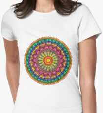 Floral Mandala - Joy Women's Fitted T-Shirt