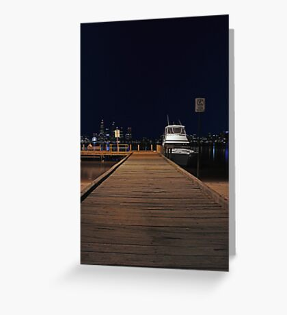 Coode St Jetty - Perth Western Australia  Greeting Card