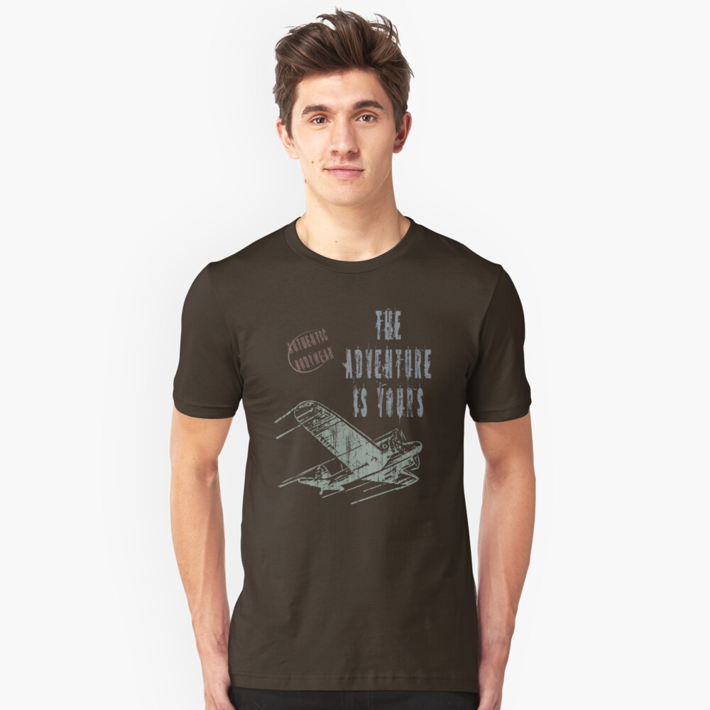The adventure is yours Unisex T-Shirt Front
