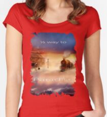 Halfway To Paradise Women's Fitted Scoop T-Shirt