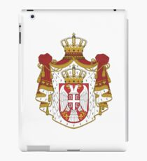 Coat of arms of Serbia iPad Case/Skin