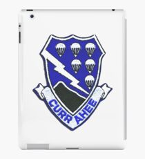 Currahee Patch 101st Airborne iPad Case/Skin