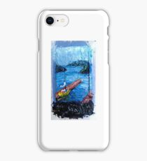 Lake Washington Marina iPhone Case/Skin