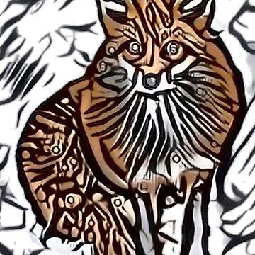 Crazy Fox by tacostudio