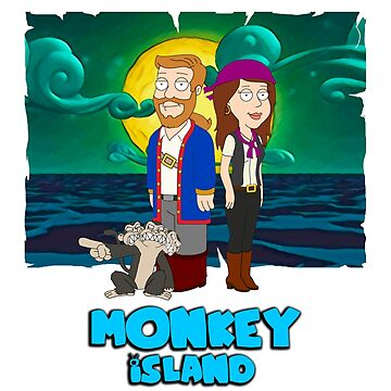 Monkey Island Guy by spegnilcomputer