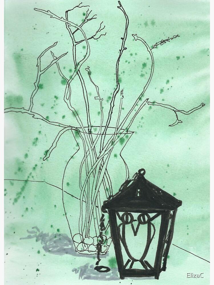Bryn Mawr Green Owl by ElizaC