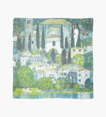 HD. Church in Cassone, by Gustav Klimt . HIGH DEFINITION Scarf
