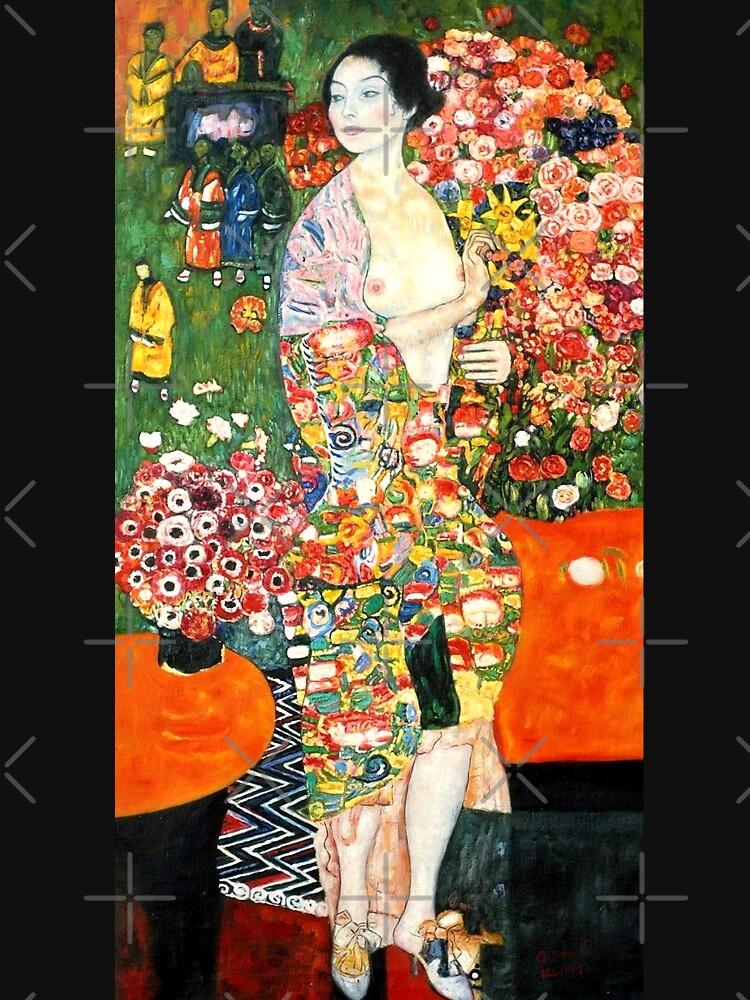 Πίνακας ζωγραφικής, The dancer, Klimt Gustav, αντίγραφο σε