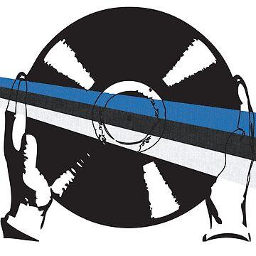 Finland Flag Vinyl by McFrys