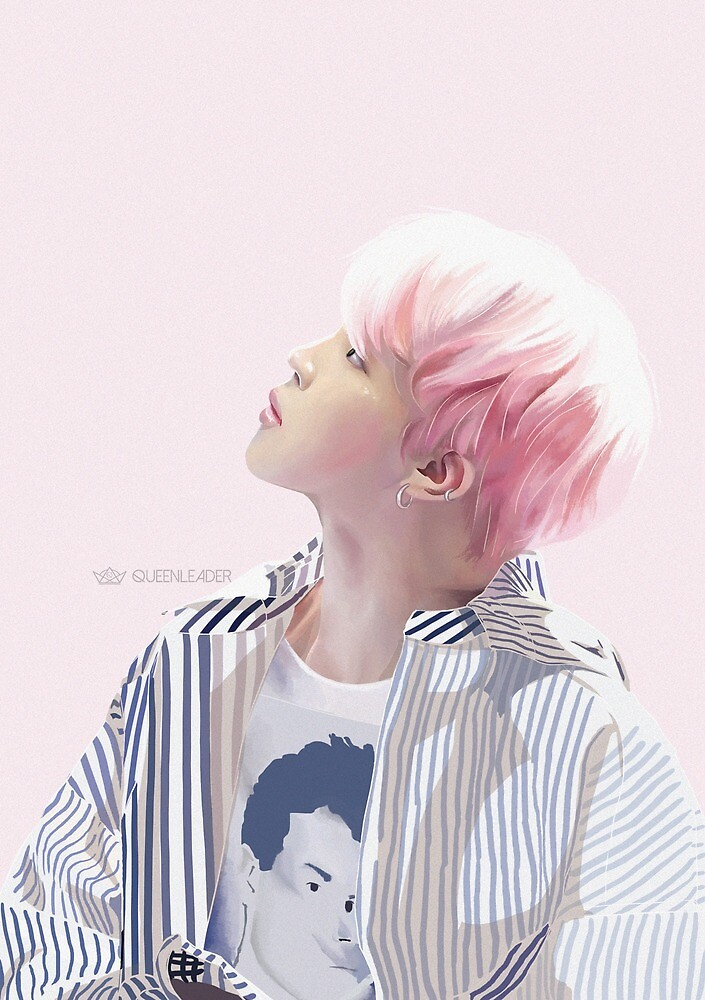 White Border - Jimin by queenleader