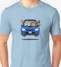 Subaru Impreza WRX Scooby Doo Unisex T-Shirt