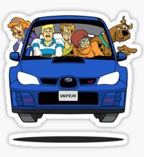 Pegatina Subaru Impreza WRX Scooby Doo
