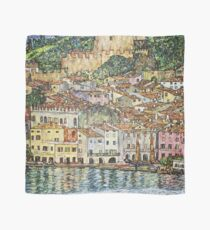 HD. Malcesine, by Gustav Klimt . HIGH DEFINITION Scarf