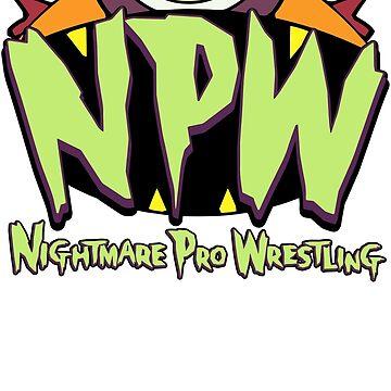 Nightmare Pro Wrestling - 2015 Logo by JonDavidGuerra
