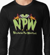 Nightmare Pro Wrestling - 2015 Logo Long Sleeve T-Shirt