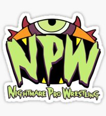 Nightmare Pro Wrestling - 2015 Logo Sticker