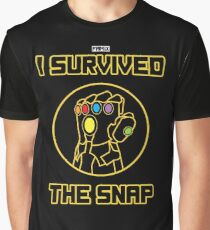 I SURVIVED THE SNAP Graphic T-Shirt