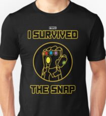 I SURVIVED THE SNAP Unisex T-Shirt
