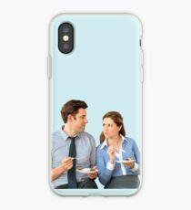 Vinilo o funda para iPhone Jim y Pam