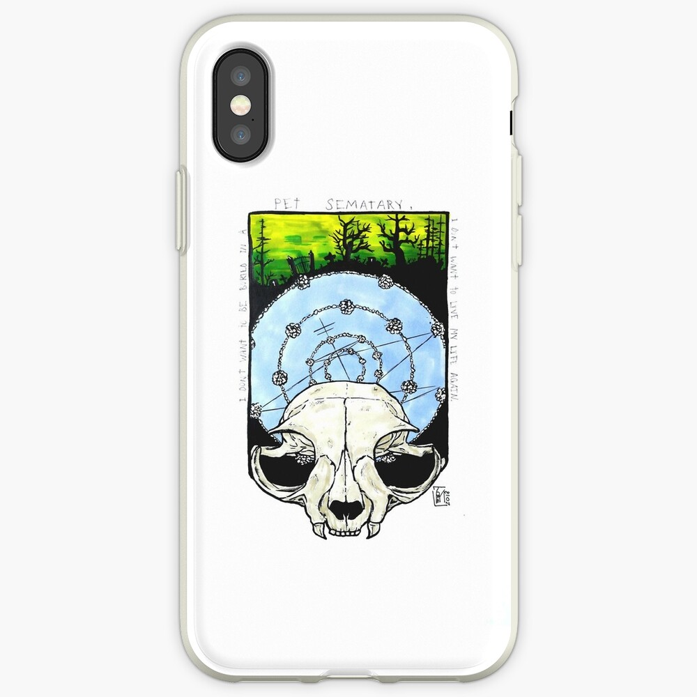 Pet Sematary iPhone Case & Cover