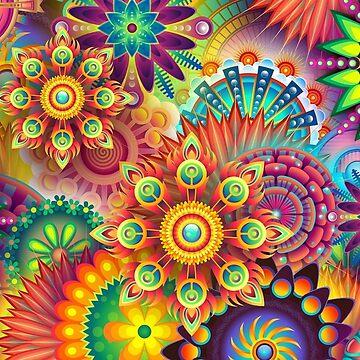 Stunningly Psychedelic by Slinky-Reebs