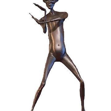 Howard the Alien HD vector art 1 by FuzzyDesigns
