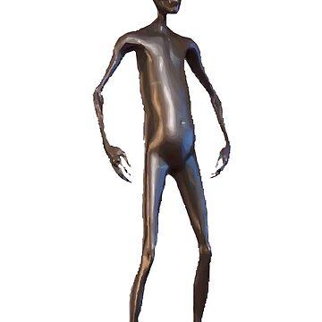 Howard the Alien HD vector art pose 2 by FuzzyDesigns