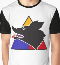 """15th Tank Battalion """"Wolfpack"""" - Clean Style  Graphic T-Shirt"""
