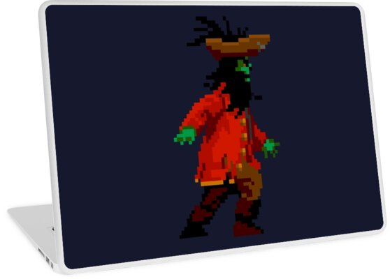 LeChuck walking (side) by DucktuR