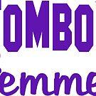 Tomboy Femme Tomboys Femmes Women Woman Girl Girls Strong Jackie Carpenter Best Seller Gift Idea Mom Wife Sister Purple by Jackie Carpenter