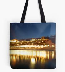 crown princess cruise liner Tote Bag