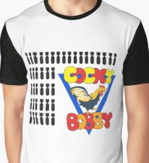 Cocky Bobby - B-24L Liberator - Clean Style Graphic T-Shirt
