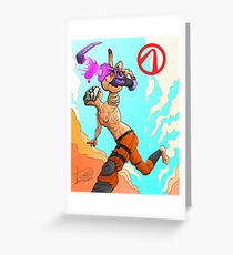 The Psycho - Borderlands Greeting Card