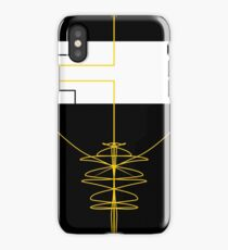 Trap In Geometry iPhone Case
