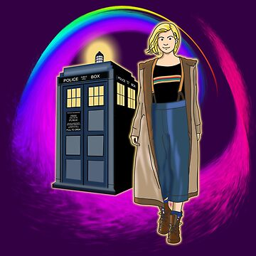 THE DOCTOR IS COMING!!!  by karmadesigner