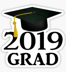 Class of 2019 Graduation Cap Sticker