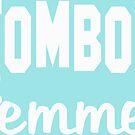 Tomboy Femme Tomboys Femmes Women Woman Girl Girls Strong Jackie Carpenter Best Seller Gift Idea Mom Wife Sister White by Jackie Carpenter
