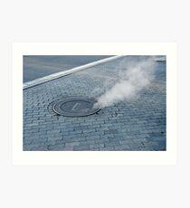 Steaming Hot Art Print