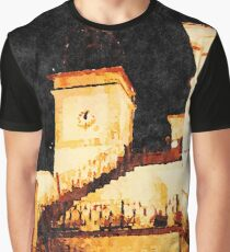 Borrello: bell tower at night Graphic T-Shirt