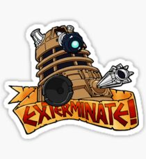 Dalek Tattoo Sticker