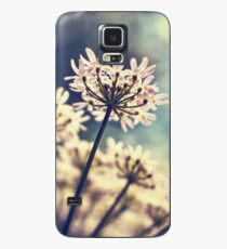 Queen Annes Lace flowers Case/Skin for Samsung Galaxy