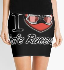 I love Cafe Racers Mini Skirt