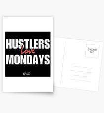Hustlers Love Mondays Postcards